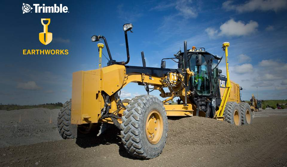 Trimble Earthworks für Grader
