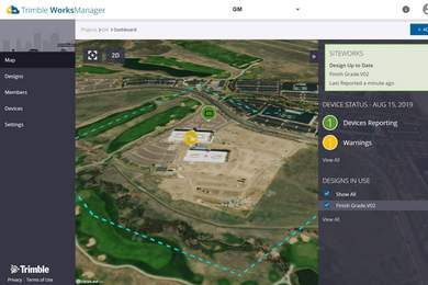 Trimble WorksManager für effizientes Projektmanagement