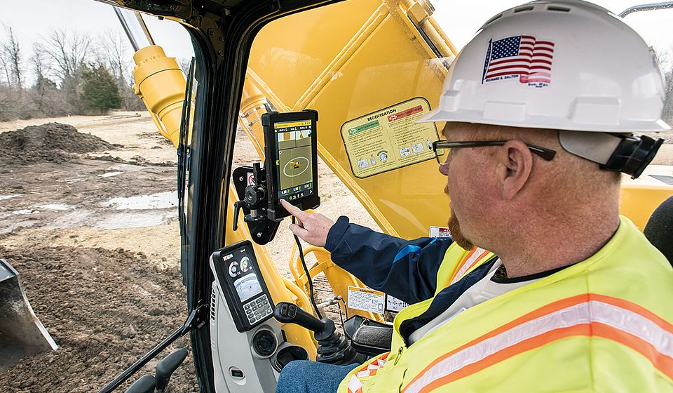 Trimble Earthworks Automatik